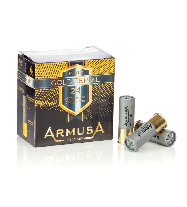 Armusa Gold Serial 12/70 24g 25 kpl kiekkopatruuna