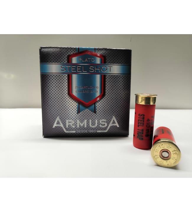 Armusa Steel Trap 12/70 24 g 25 kpl haulikonpatruuna