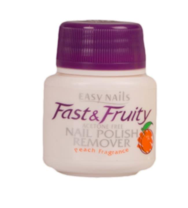 Fast & Fruity asetoniton persikka kynsilakanpoistodippi