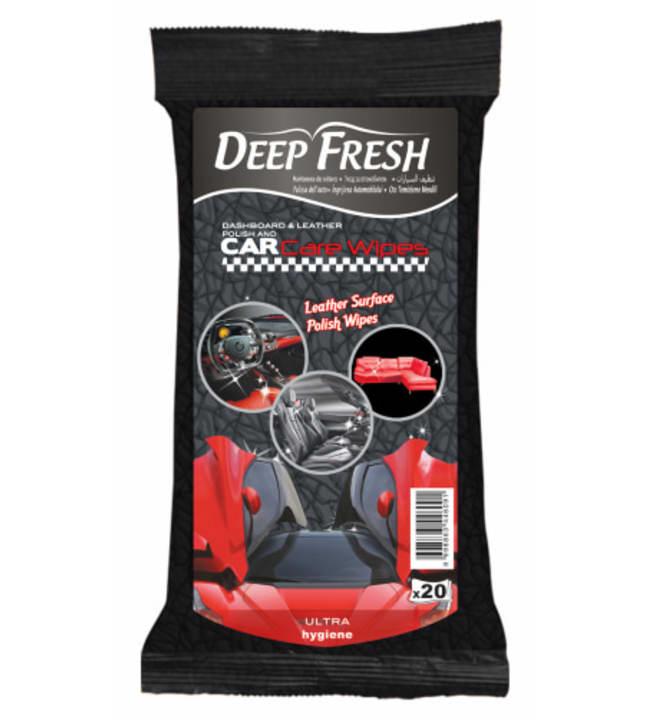 Deep Fresh kostea autonpuhdistusliina