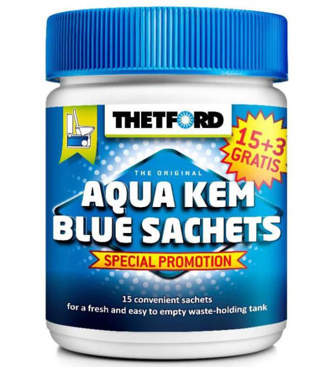 Thetford Aqua Kem Sachets 18 jauhepussia jätesäiliöön