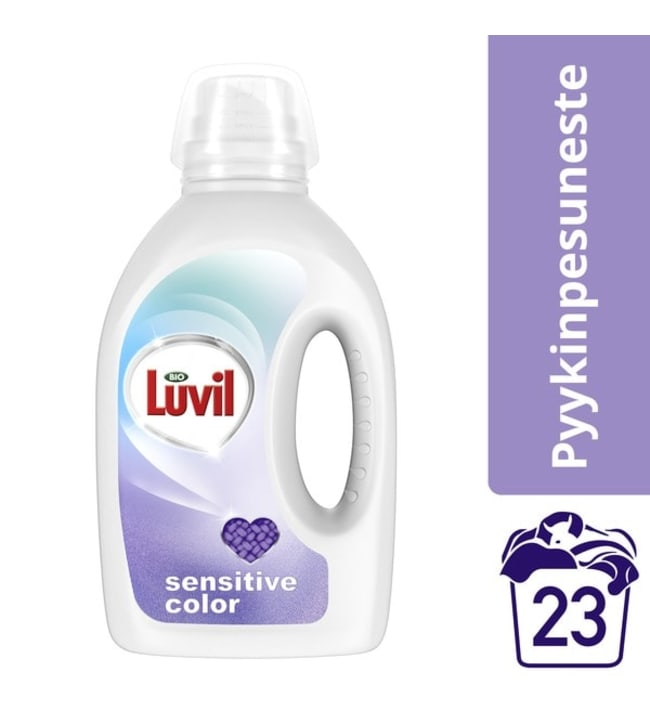 Bio Luvil Sensitive Color 920 ml pyykinpesuneste