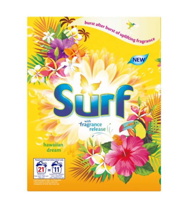 Surf Hawaiian Dream 660 g pyykinpesujauhe