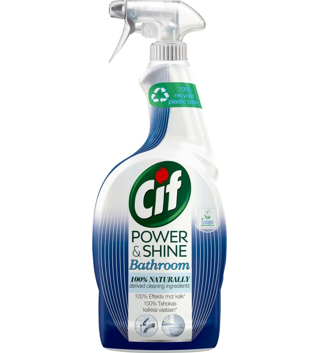 Cif Power & Shine Kylpyhuone 750 ml puhdistussuihke