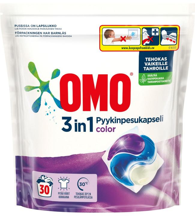 Omo Color 30 kpl pyykinpesukapselit