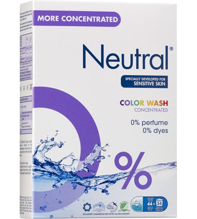 Neutral color 1,65 kg pyykinpesujauhe