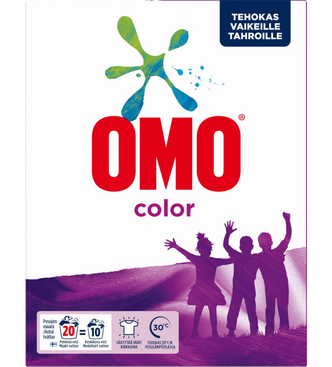 Omo color 700 g pyykinpesujauhe