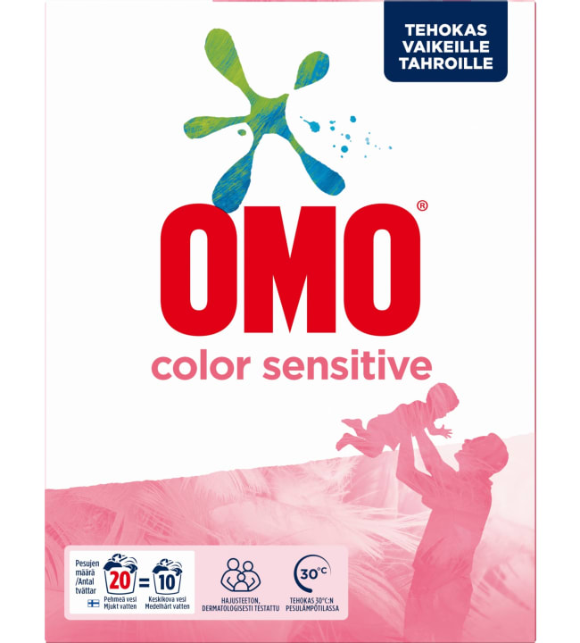 Omo sensitive color 700 g pyykinpesujauhe