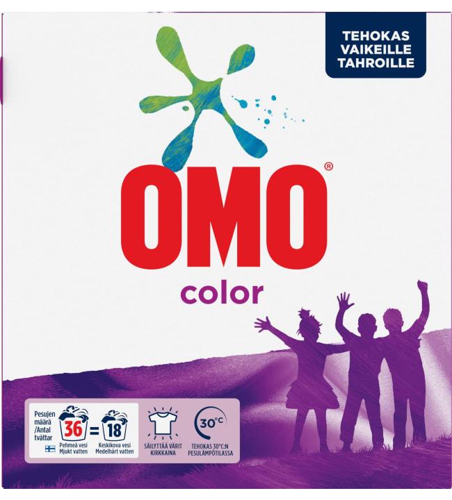 Omo color 1,26 kg pyykinpesujauhe