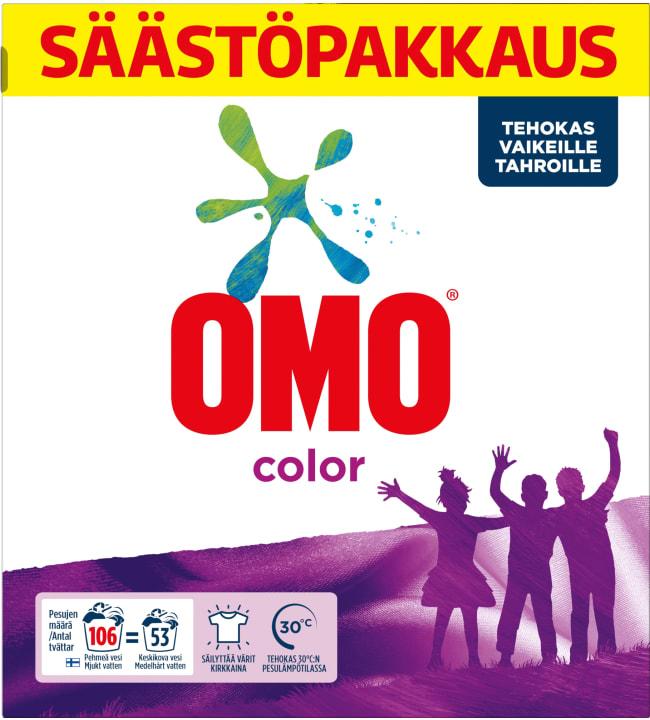Omo Color 3,72 kg pyykinpesujauhe