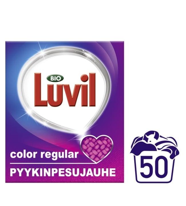 Bio luvil color 1,61 kg pyykinpesujauhe