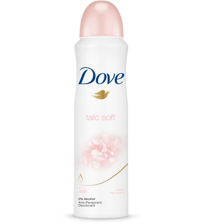 Dove 150 ml Talc Soft spray