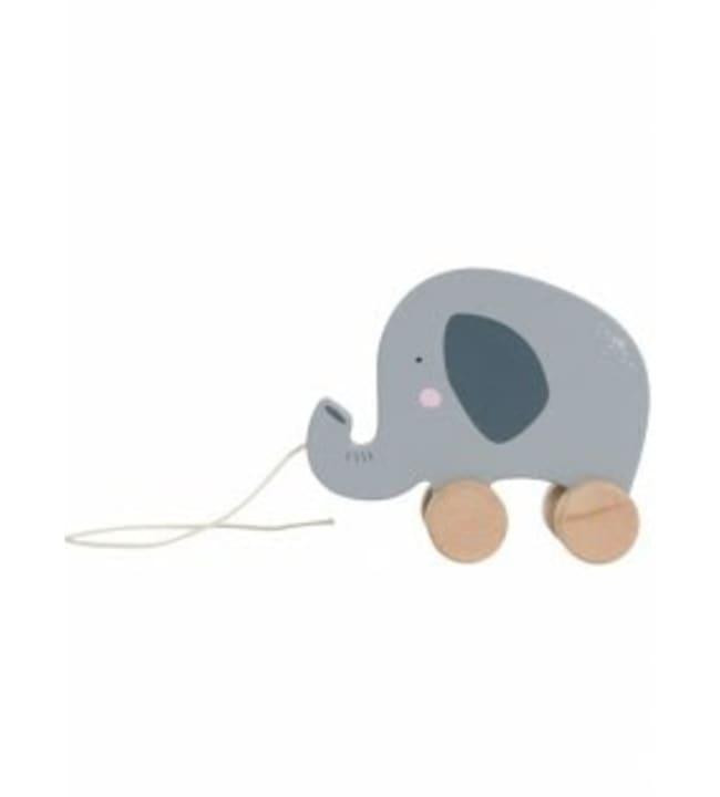 Tiamo Elefantti puinen vetolelu