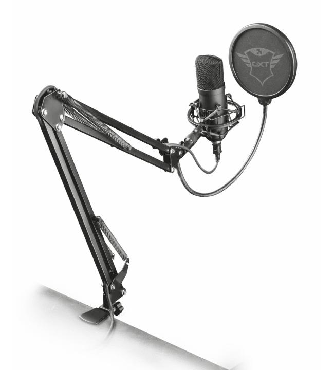 Trust GXT252+ Emita Plus Streaming mikrofoni