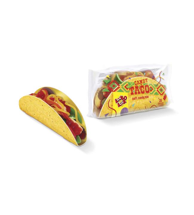 Look-O-Look Candy Taco 115 g makeissekoitus