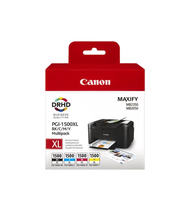 Canon PGI-1500XL Multipack Tuottoisa mustepatruuna
