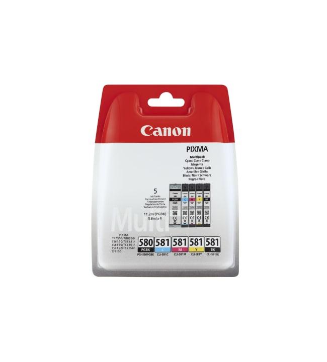 Canon PGI-580/CLI-581 black/CMYK mustepatruuna