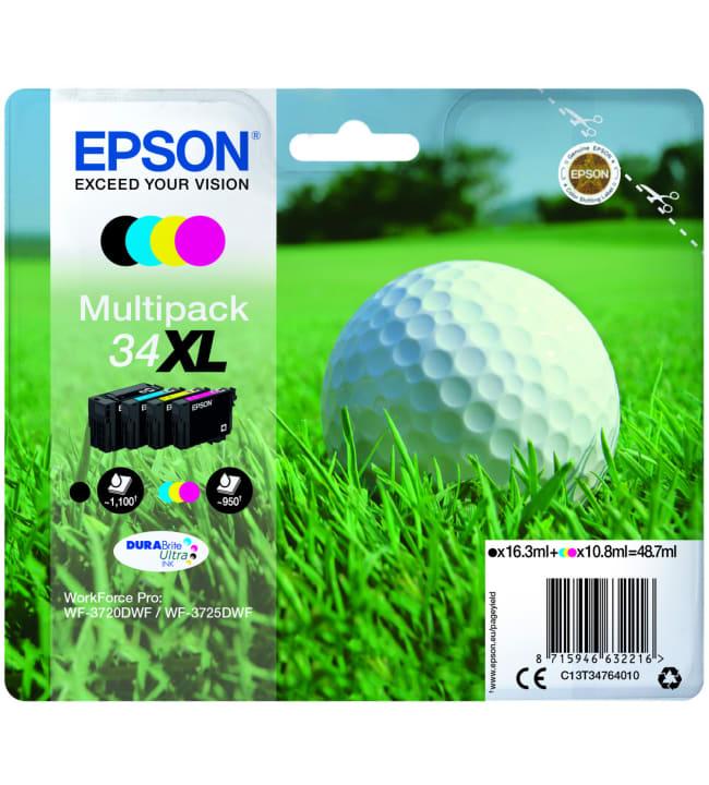 Epson 34 XL Multipack mustepatruuna
