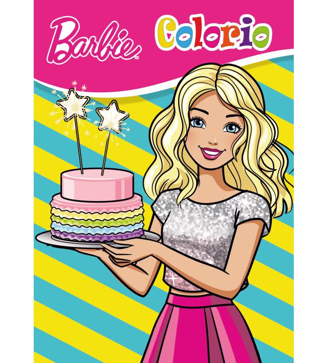 BSN Barbie värityskirja