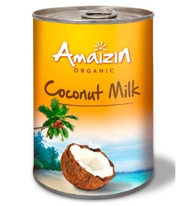 Amaizin Organic 400 ml luomu kookosmaito