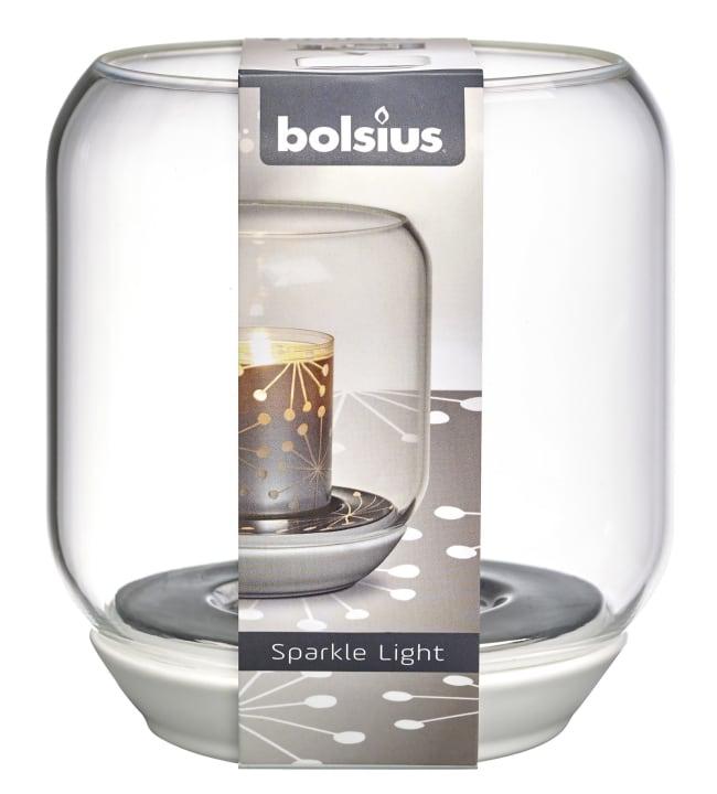Bolsius Sparkle light 13x12,1cm lyhty