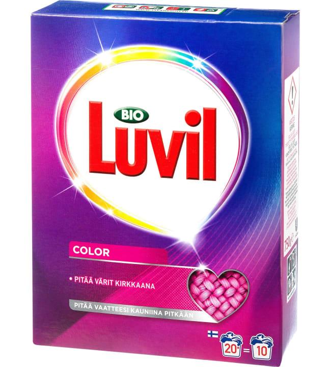 Bio Luvil Color 750g pyykinpesujauhe