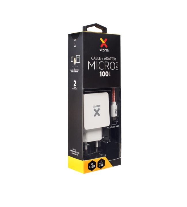 Xtorm CX003 1m Micro-USB kaapeli ja muuntaja