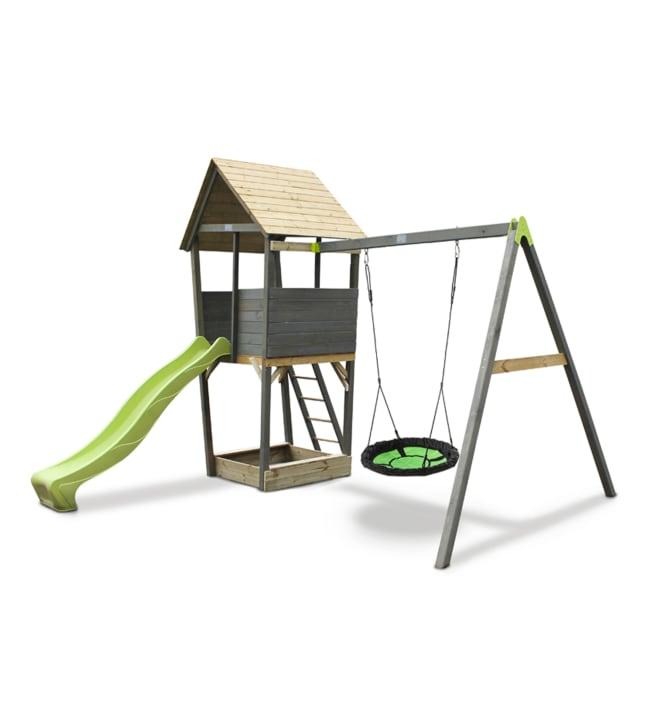 EXIT Aksent leikkitorni ja linnunpesäkeinu