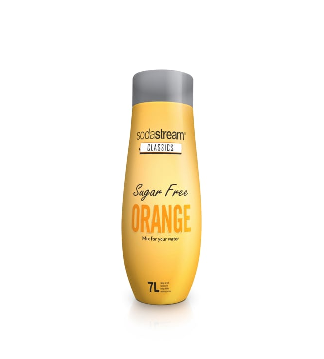 SodaStream Classics Orange Sugar Free 440 ml tiiviste
