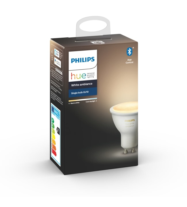 Philips Hue White Ambiance GU10 350lm led-älylamppu
