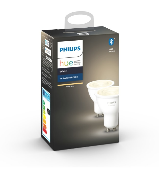 Philips Hue White GU10 400lm 2kpl led-älylamppu