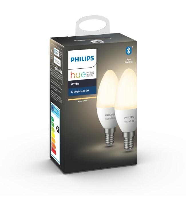 Philips Hue White E14 470lm 2kpl led-älylamppu