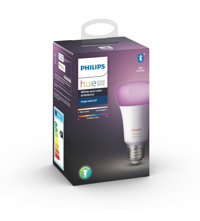 Philips Hue White and Color Ambiance E27 806lm led-älylamppu