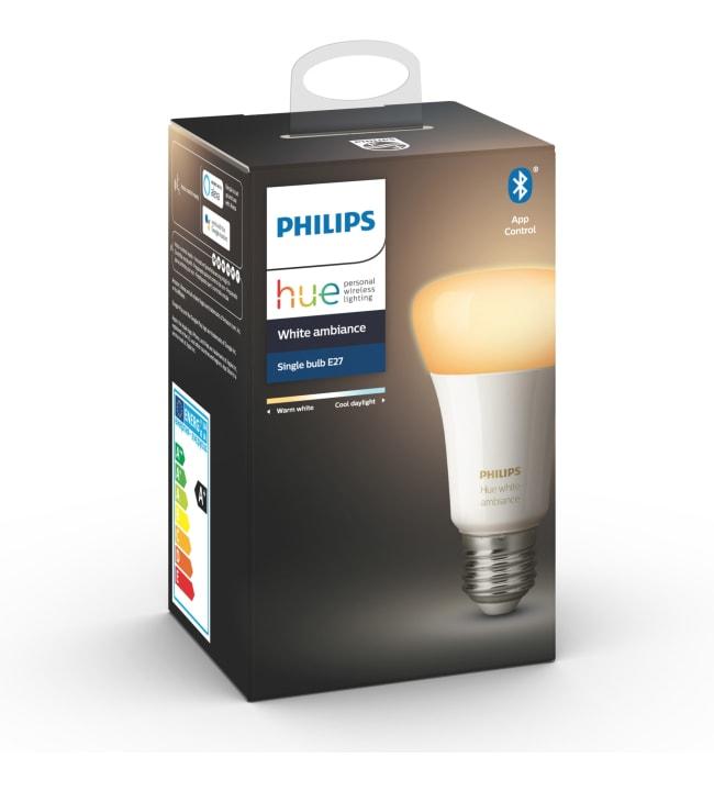 Philips Hue White Ambiance E27 806lm led-älylamppu