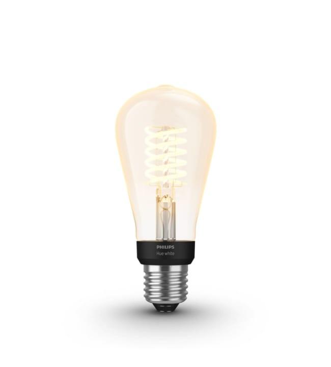 Philips Hue White E27 550lm filamentti ST64 led-älylamppu