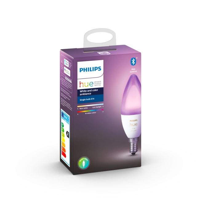 Philips Hue White and Color Ambiance E14 470lm led-älylamppu