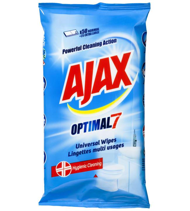 Ajax Optimal 7 yleispuhdistusliinat