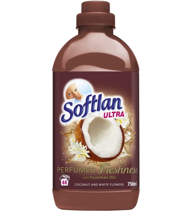 Softlan Coconut&White Flowers 750 ml huuhteluaine