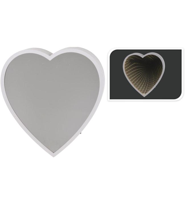 H&S Sydän 44 LEDin peilipöytävalo