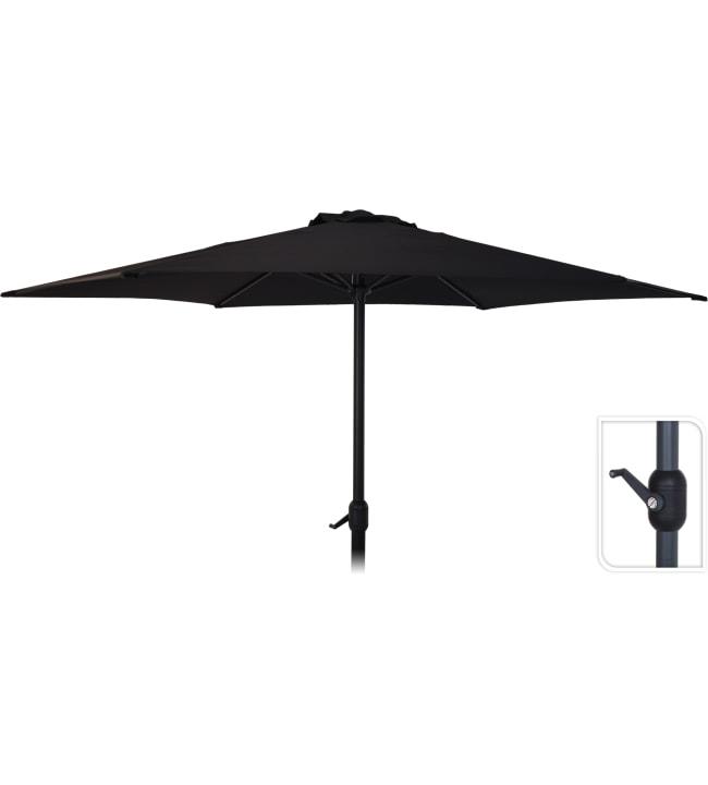 KM 3m musta aurinkovarjo