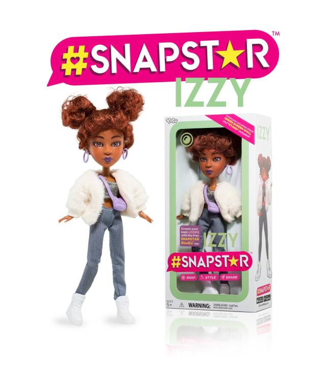 SnapStar Izzy muotinukke