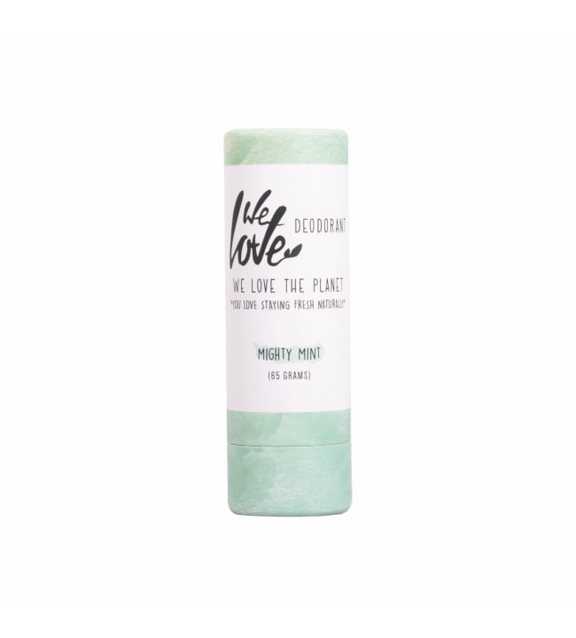 We Love The Planet Mighty Mint stick 65 g deodorantti