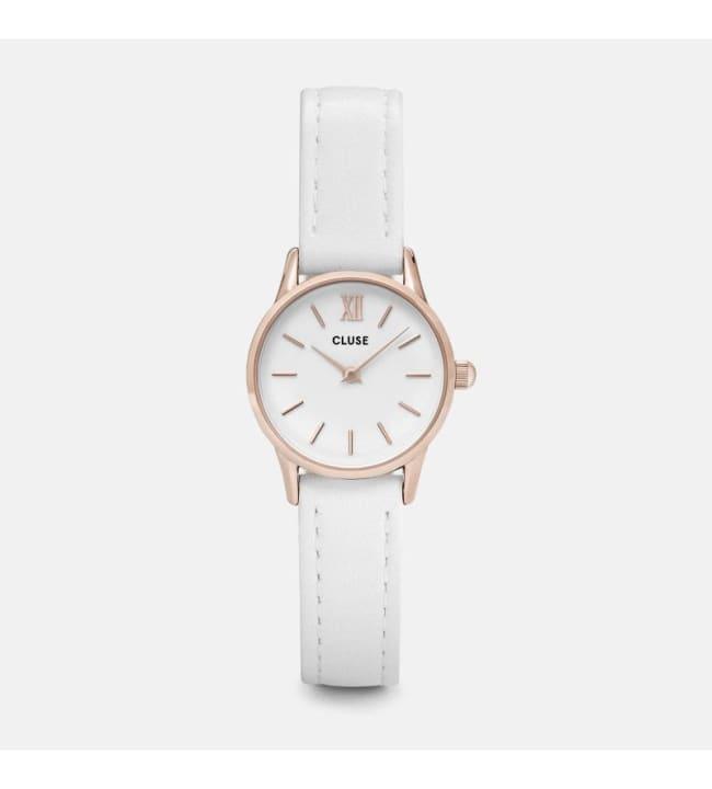 Cluse CL50030 La Vedette Rose Gold White/White rannekello