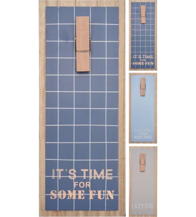 H&S 30x12cm muistitaulu