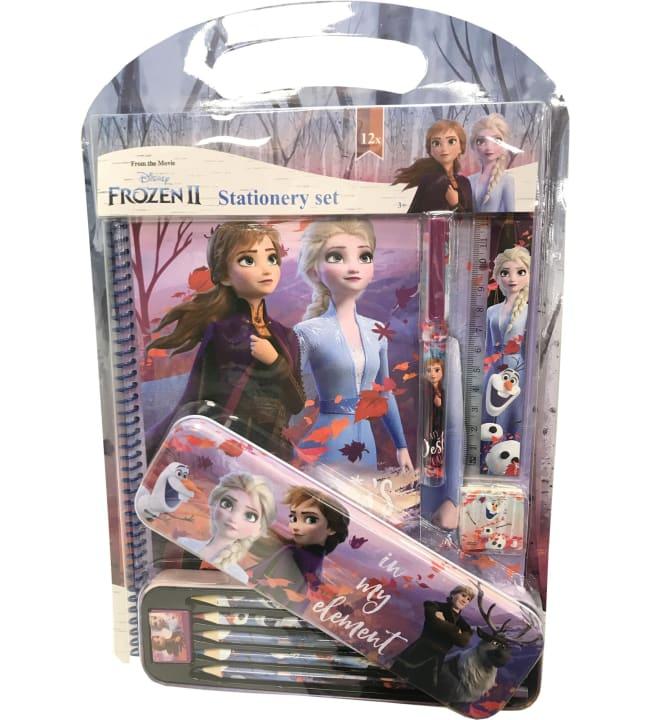 Frozen 2 koulutarvikesetti 12os.