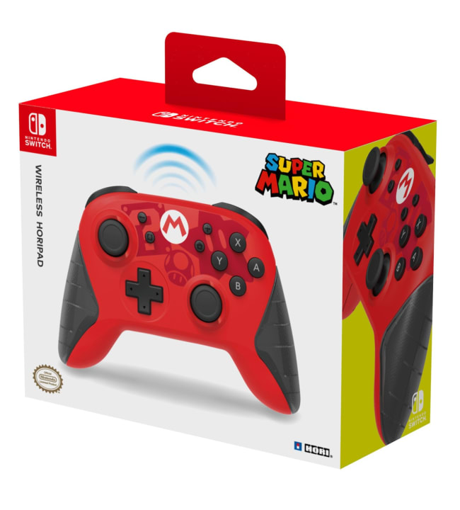 Hori Nintendo Switch Mario langaton ohjain