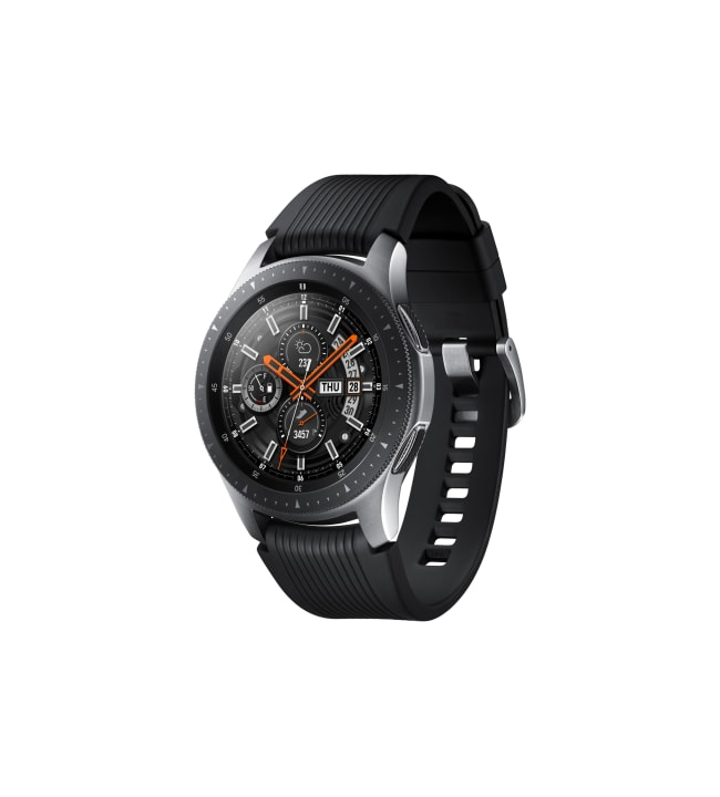 Samsung Galaxy Watch 46mm Silver LTE älykello