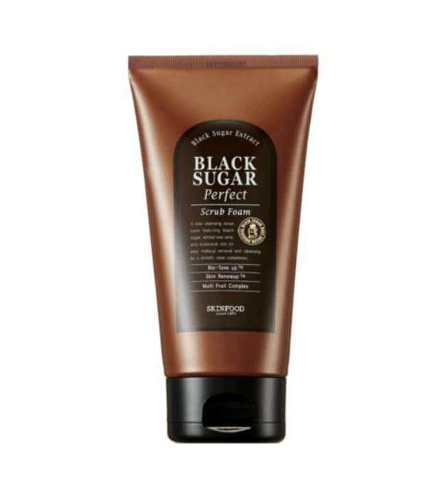 SkinFood Black Sugar Perfect 180 ml vaahtomainen kasvokuorinta
