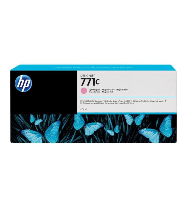 HP 771C light magenta mustepatruuna