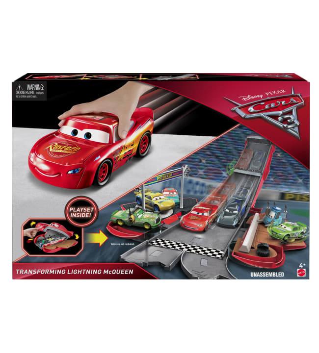 Cars 3 Transforming leikkisetti